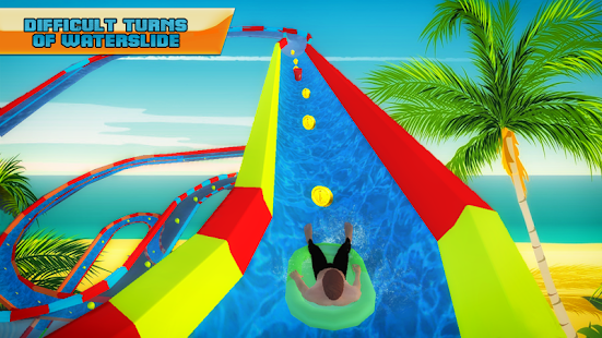 Water Slide Adventure Park 3D- screenshot thumbnail