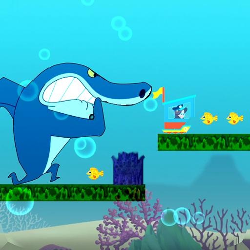 zig  shark - adventure and run