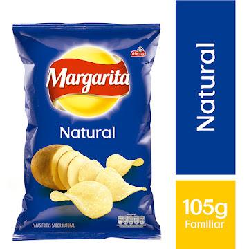 PASABOCAS MARGARITA   PAPAS FRITAS NATURAL X105G