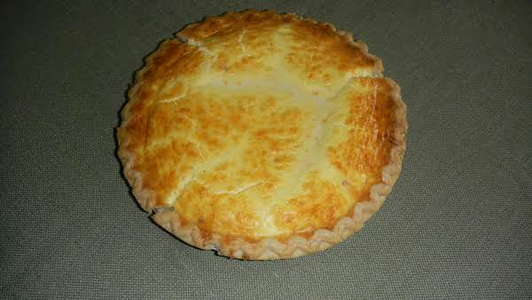 Cheddar Cheese Pie Recipe