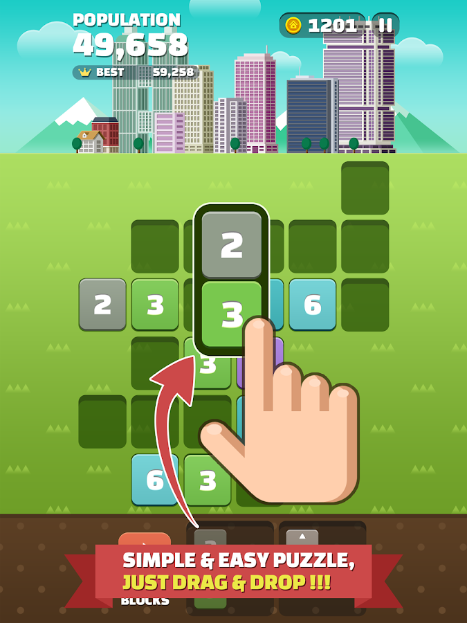 My Little Town : Number Puzzle- screenshot
