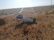The driver of this bakkie, in which five pupils were killed when it overturned, has been charged with drunk driving.