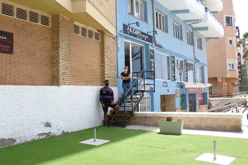 IL Capo mangia, establecimiento hostelero ubicado en el Paseo Marítimo.