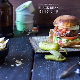 The Best Black Bean Burger Recipe