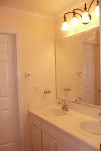 Photo: Shared bath, separate tub/shower/toilet
