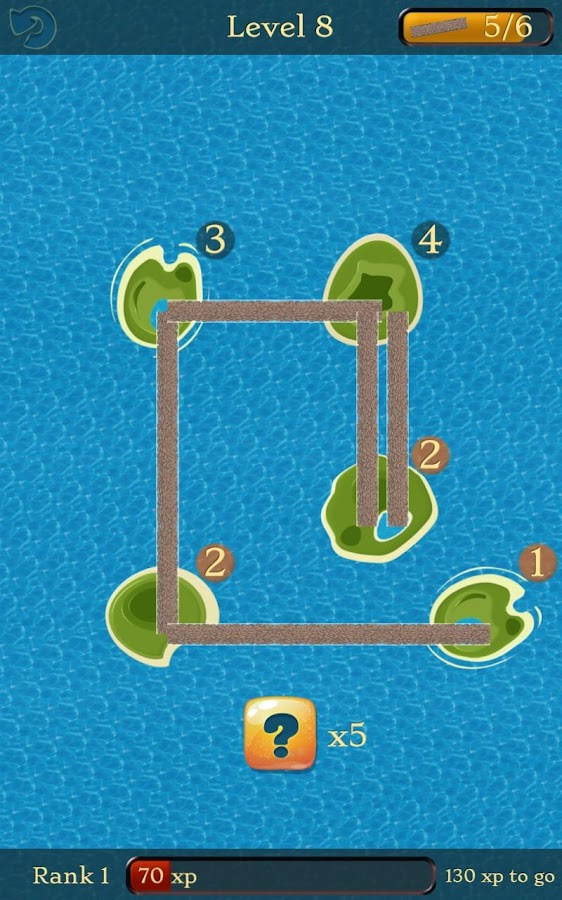 Bridges: A Number Line Puzzle- screenshot