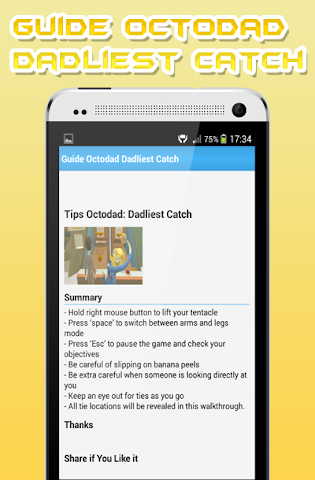 android Guide Octodad: Dadliest Catch Screenshot 2