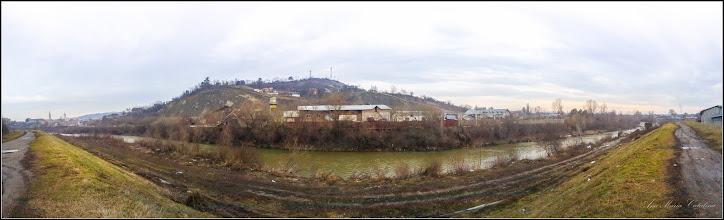 Photo: Turda - Str. Stefan cel Mare , vedeere panorama de pe dig - 2019.02.02