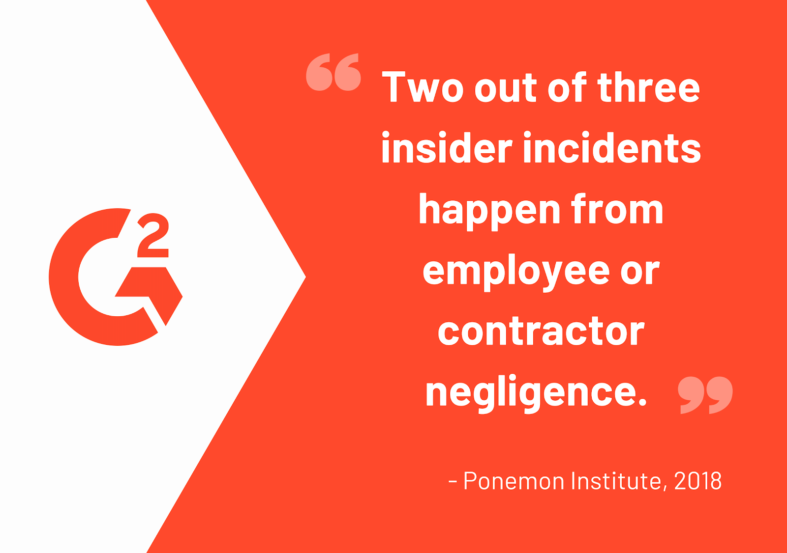 Contractor negligence and insider threats