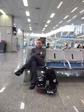Photo: Waiting in Rio de Janario, 10 hour transfer