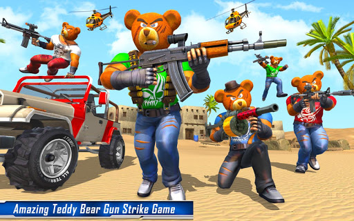 Teddy Bear Gun Strike Game: Counter Shooting Games apkmr screenshots 9