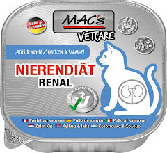 Mac's Katt Vetcare Chicken Salmon Renal