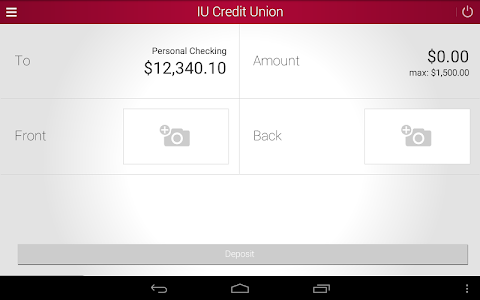 IU Credit Union Mobile Banking screenshot 9