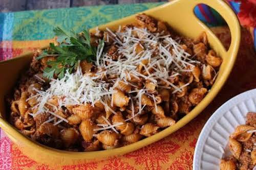 "Chili Mac My Way""My mom used to make this instead of spaghetti..."