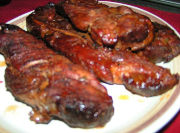 Remove ribs; skim fat from sauce.  Cook sauce and beans, uncovered, on HIGH...