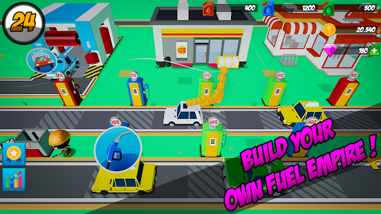 Download Idle Gas Station For PC Windows and Mac apk screenshot 1