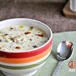 Crock Pot Clam Chowder – Low Carb, Gluten Free.