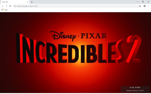 Incredibles 2 New Tab & Wallpapers Collection