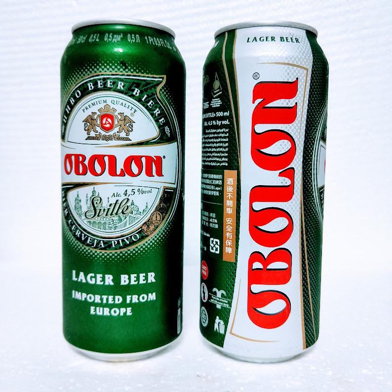 烏克蘭 歐寶龍淡啤酒
