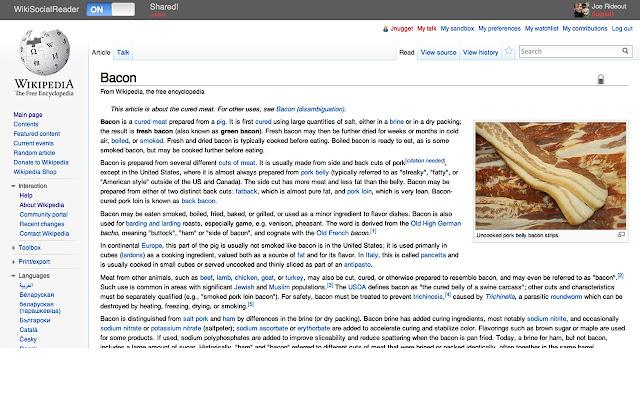 Wiki Social Reader