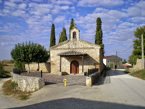 Photo: Etapa 13. Ermita NªSª del Monasterio. Rabé de las Calzadas