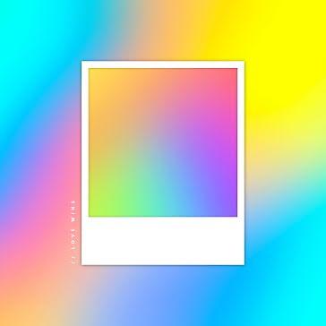 Rainbow Mockup - Instagram Post template