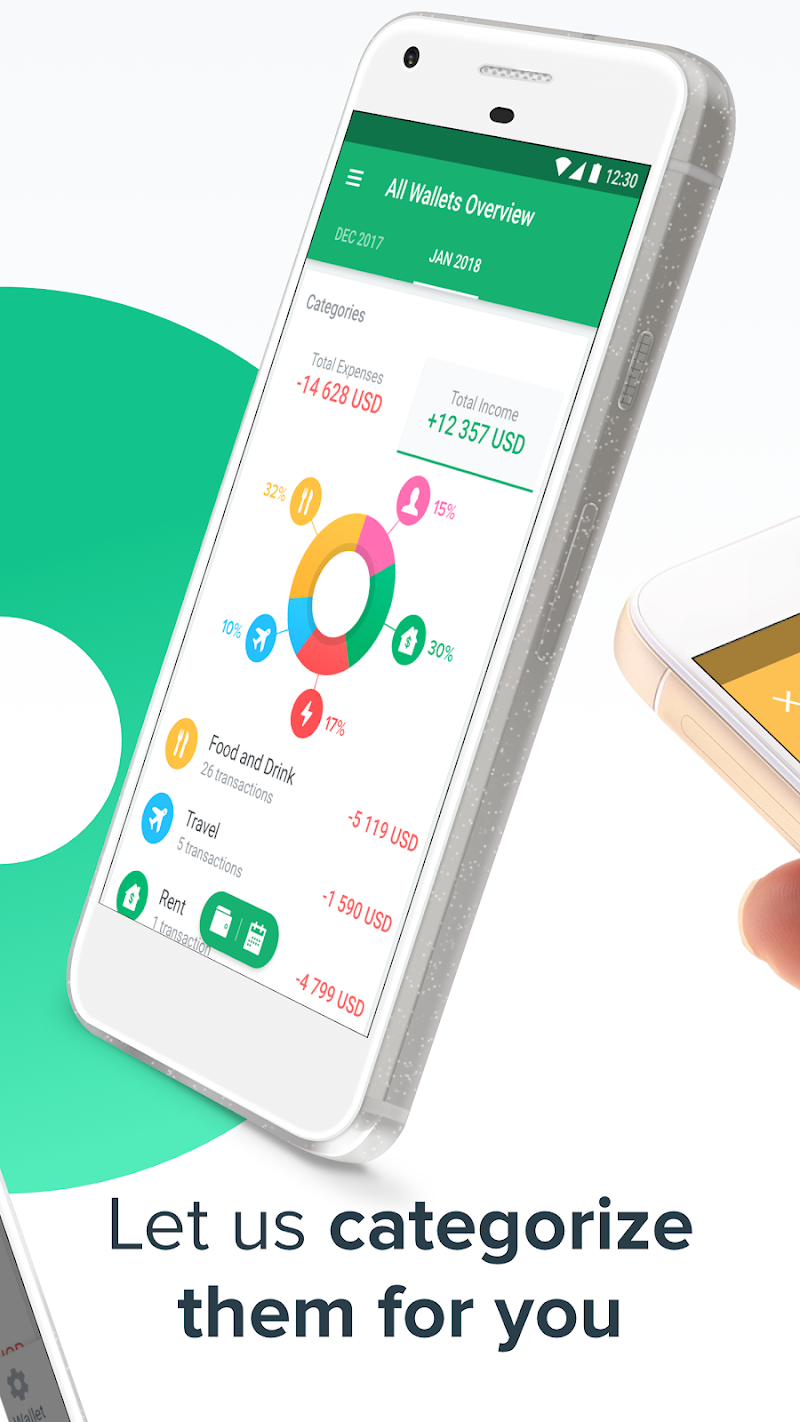 Spendee - Budget & Money Tracker with Bank Sync Screenshot 2