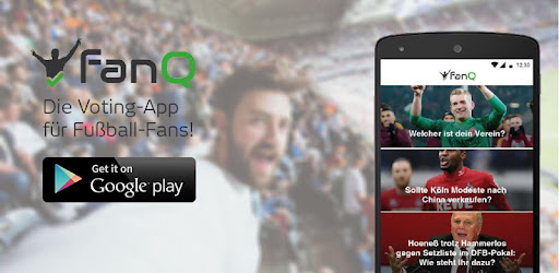 Bei FanQ stimmen Fußballfans 3x täglich über aktuelle Themen ab und diskutieren.