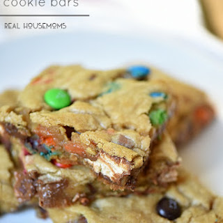 Ultimate Candy Cookie Bars.