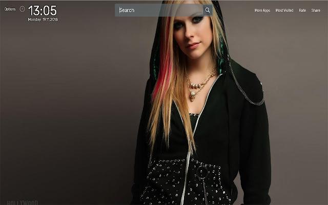 Avril Lavigne Wallpapers Newtab Theme