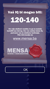 Mensa BiH- screenshot thumbnail