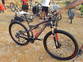 Photo: ...and here is Specialized Epic making its debut in the Indian amatuer racing scene!
