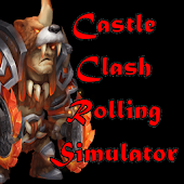 Castle Clash Rolling Simulator