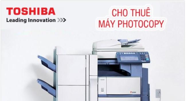 Dịch vụ cho thuê máy photocopy tại TPHCM của Đức Lan
