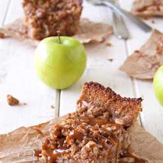 Deep Dish Apple Pie Bars With Quinoa Crust