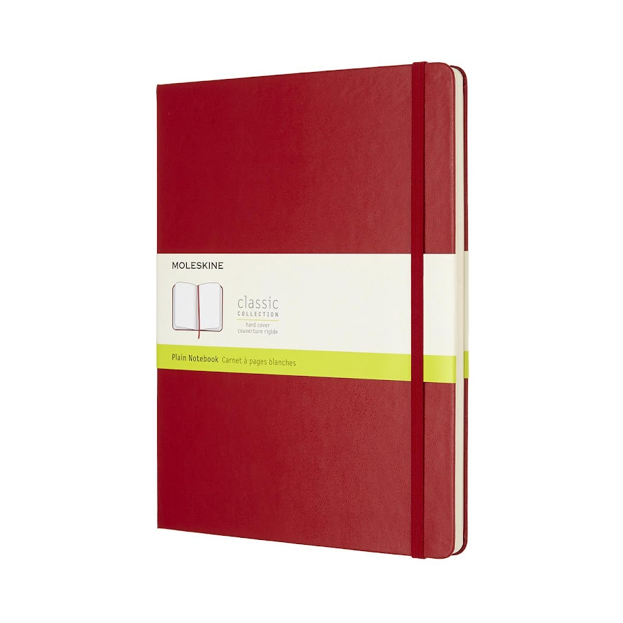 Classic Hard Cover XL Red