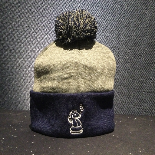 Snakes Toque (Navy Blue)