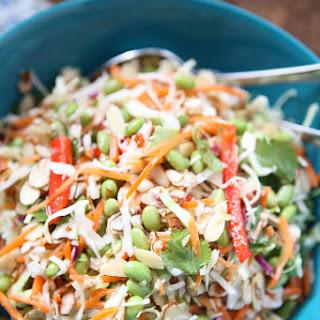 Asian Almond Slaw Salad