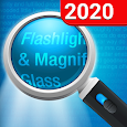 Magnifying Glass + Flashlight apk