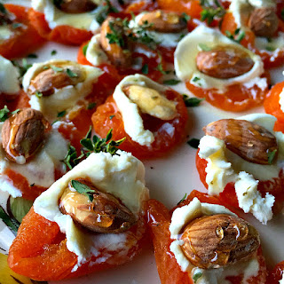 Apricot Almond Appetizer.