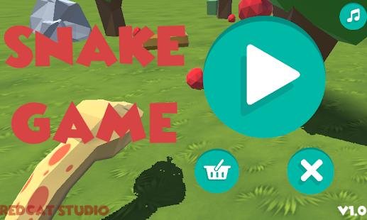 Snake 3D - náhled