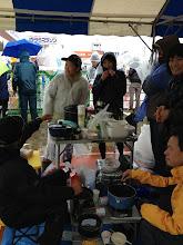 Photo: 調理班。シブジャガ親分、ハブラシさん、ヤンヤン、ワニサメ、ミッフィー、ぎゅうちゃん