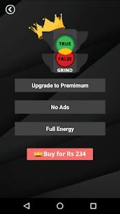 True False Grind - Quiz of Knowledge - náhled