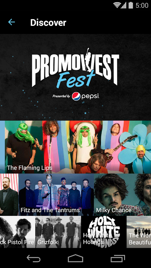 PromoWest Fest- screenshot