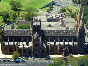 Photo: This is a photo of St Marys Cathedral in Sydney, taken from the Observation deck of the Centrepoint Tower. - An 'oldie' that I took in Sydney some years ago! Have a happy Sacred Sunday everyone! My contribution tonight for #sacredsunday +SacredSunday™ curated by +Charles Lupica +Manfred Berndtgen +Margaret Tompkins +Sherrie von Sternberg and myself