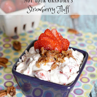 Not Your Grandma's Strawberry Fluff