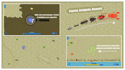 Télécharger Évolution de la planète : Mutation de Spores APK MOD (Astuce) screenshots 3