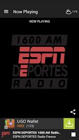 ESPN DEPORTES Radio Fresno Apk Download Free for PC, smart TV