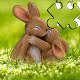 Download Beautiful and cute bunny puzzle - free For PC Windows and Mac
