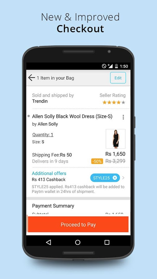 Recharge, Shop and Wallet- screenshot
